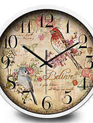 Creative Antique Home Accessories Quiet Quartz Wall Clock