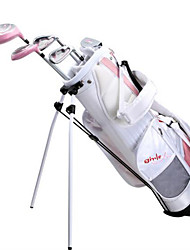 Wistella Girls' Golf Club Sets Children Beginner Golf Wearproof Kids
