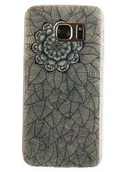Pour Samsung Galaxy S7 Edge Motif Coque Coque Arrière Coque Mandala Flexible PUT pour SamsungS7 edge S7 S6 edge S6 S5 Mini S5 S4 Mini S4