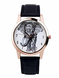Fashion Unisex Watches Lucky Elephant Analog Digital Quartz Watch