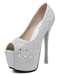 Women's Wedding Shoes Heels/Peep Toe/Platform Heels Wedding/Party & Evening