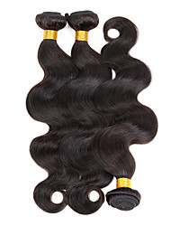 Brazilian Virgin Hair Body Wave 3 Bundles Hair Products Brazilian Body Wave Unprocessed Human Hair Weave 100g/Bundle