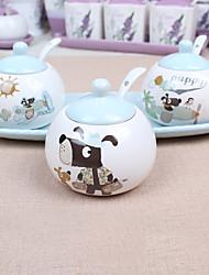 1 Cucina Cucina Ceramica Shaker e macinini 28*12*11cm