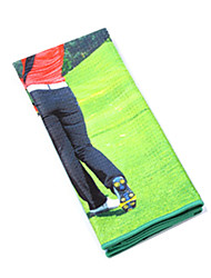 Golf Towel To Wipe Cue Superfine Fiber Golf Supplies, Golf Towel To Wipe The Sweat Towel