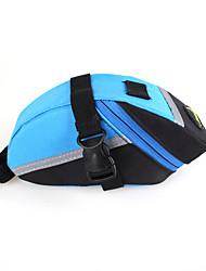 B-SOUL® Bolsa de Bicicleta 2LLBolsa para Bagageiro de BicicletaCamurça de Vaca á Prova-de-Choque / Vestível / Multifuncional / Suporte