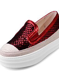 Women's Shoes / Fall Platform / Creepers / Comfort / Round Toe Loafers & Slip-Ons  / Dress / Casual Platform Slip-on