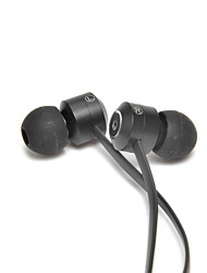 USURE HL04 In-Ear Earphone Metal Heavy Bass Sound Quality Music Earphone with Mic for MP3 / MP4 / Smartphone