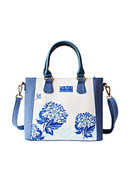 Flower Princess® Women Canvas Shoulder Bag Blue-1507SXD001
