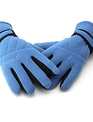 Motorcycle Fleece Gloves Slip Fleece Gloves Warm Gloves Longer Thicker Anti-UV Breathable Wear Non-Slip Earthquake