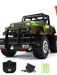 Buggy (stehend) / Buggy 1:20 Bürster Elektromotor RC Car 5km/h 2 Kanäle AM Grün Fertig zum Mitnehmen