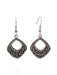 Earring Geometric Jewelry Women Fashion Wedding / Party / Daily / Casual Alloy 1 pair Silver