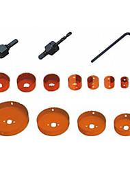 kaisi® trou de la menuiserie a vu 16 ensembles d'outils à main, matériel