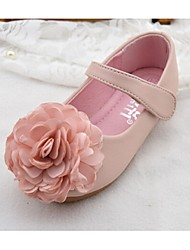 Girls' Shoes Outdoor Comfort PU Flats Pink / White