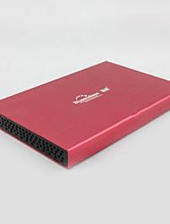 """USB2.0 2.5 """"cas de disque dur à grande vitesse (couleurs aléatoires)"""