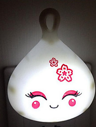 (Color Random)Little Doll Light Control LED Energy-saving Night Light