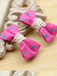 Girls Hair Accessories,All Seasons Viscose Green / Pink / Yellow