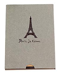 Gray Eiffel Tower design diy photo album