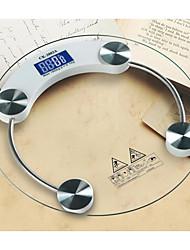 logotipo da escala de saúde electrónico casa, pode ser personalizado (7 bateria indicador de temperatura 8 milímetros fina embalagem)