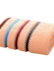 """1pc plein 29 serviette de coton à la main """"par 13"""" motif de bande super doux"""
