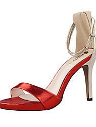 Women's Shoes  / Fall Heels / Peep Toe Sandals Party & Evening Stiletto HeelRhinestone / Crystal / Feather /