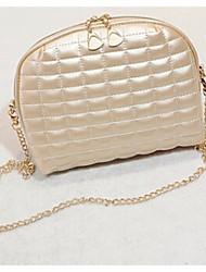 Women PU Casual Shoulder Bag White / Gold / Silver / Black