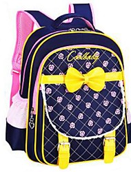 Women Nylon Sports / Outdoor Backpack Pink / Purple / Blue / Black / Fuchsia