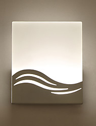 Modern 2W LED Wall Lights,Style Simplicity Acryl Bathroom Lighting Living Room Hallway Bedroom Hotel rooms Bedside Lamp