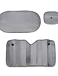 6 шт серебряный пузырь сторона фольги блока переднего ветрового стекла заднего стекла зонтика