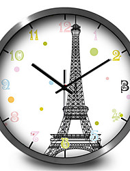 Creative Personality To Study The Living Room Decorative Metal Home Furnishing Feir Iron Tower Wall Clock