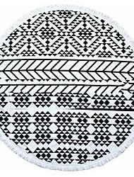 Drap de plage Noir Haute qualité 100% Coton Serviette