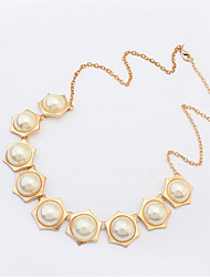 Fashion Diamond Pearl Necklace Wild Accessories