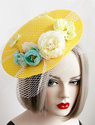 Women's Lace / Fabric Headpiece-Wedding / Special Occasion Fascinators 1 Piece