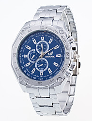 New Arrival Foreign Trade Popular Stainless Steel Fashion Watch For Women And Men's