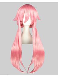 40inch o futuro diário-gasai yuno luz rosa peruca anime cosplay cs-052A