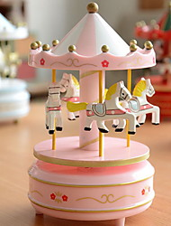 Creative Merry-Go-Round Music Box