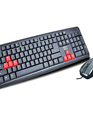 Business Office Waterproof Mouse And Keyboard Set