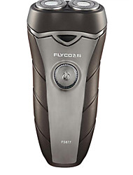 Electric Shaver Men Face Electric Low Noise Stainless Steel Flyco