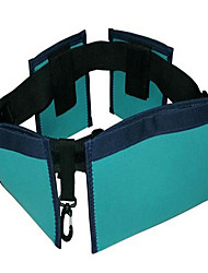 Unisex Nylon Casual Waist Bag Green
