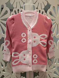 Baby Casual/Daily Solid Clothing Set-Cotton-Winter / Fall-Orange / Pink / Yellow