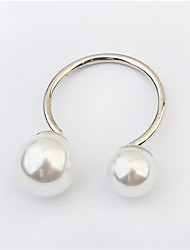 European And American Fashion Pearl Ring