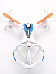 Drone FPV TM71 4CH 6 Eixos 2.4G - Quadcóptero RC Iluminação De LED / Vôo Invertido 360° Branco