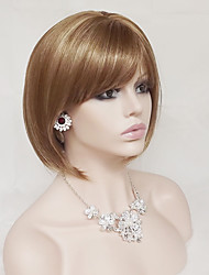 Europe And The United States Golden 10 Inch Hair Nylon Hair Wigs
