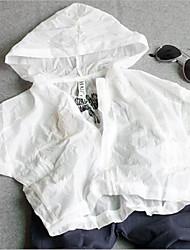 Casual/Dagelijks-Patchwork-Katoen-Zomer-Girl's-Kostuum & Blazer-Wit