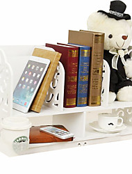On The Table A Simple Bookshelf Shelf Shelf Desktop Simple Dormitory Desk Shelf Rack