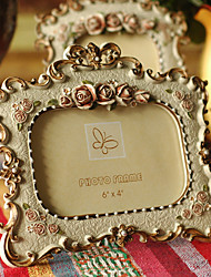 Vintage Theme Resin Photo Frames / Photo Albums / Room Signs Gold / Yellow