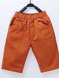 Boy's Cotton Pants,Spring / Fall Solid