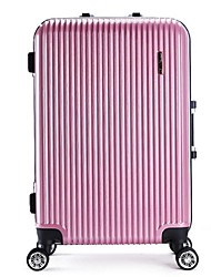 Unisex Metal Outdoor Luggage Pink / Blue / Green / Gold / Silver