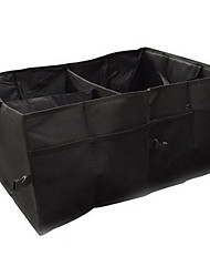 Oxford Cloth Car Storage Box, Car Built-In Folding Box, Car Compartment Storage Box