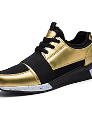 Men's Shoes for Sports And Leisure Fashion Shoes Gold/ Sliver