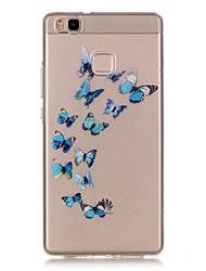 Для Кейс для Huawei / P9 Lite / P8 Lite Прозрачный Кейс для Задняя крышка Кейс для Other Мягкий TPU HuaweiHuawei P9 Lite / Huawei P9 Plus